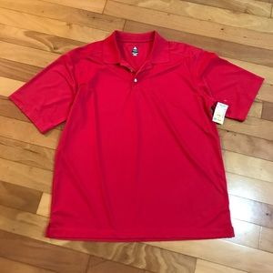Red Golf Polo NWT